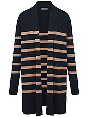 Basler - Long-Strickjacke aus 100% Schurwolle