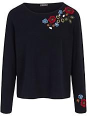 Basler - Pullover mit auffallend schöner Stickerei