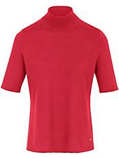 Basler - Pullover mit geripptem Stehbund-Kragen