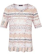 Basler - Rundhals-Shirt mit 1/2-Arm in Ausbrenner-Optik