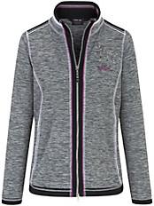 Canyon - Sweat-Jacke mit einer Stickerei und Nieten vorne