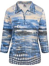 Dingelstädter - Polo-Pullover mit 3/4-Arm