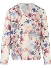 Dingelstädter - Pullover mit charmantem Floral-Druck
