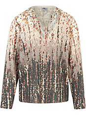 Dingelstädter - Pullover mit Crochet- und Effektgarn-Verzierung