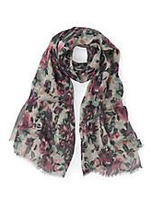 Emilia Lay - Schal mit faszinierendem Blüten-Print