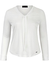 Emilia Lay - Shirt mit variabel zu bindender Web-Schluppe