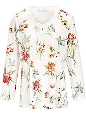 Hutschreuther - Schlafanzug mit Blüten-Dessin
