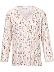 Hutschreuther - Schlafanzug mit Blütenranken-Dessin