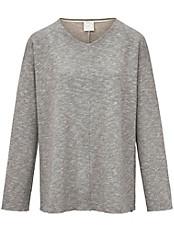 Hutschreuther - Shirt mit tollem Melange- und Glitzer-Effekt