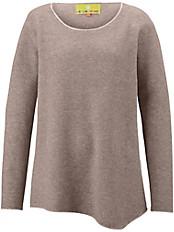 LIEBLINGSSTÜCK - Long-Pullover mit asymmetrischen Zipfeln
