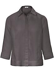 Peter Hahn - Bluse  mit 3/4-Arm aus 100% Leinen