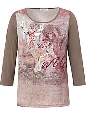Peter Hahn - Blusen-Shirt mit komfortablen Jersey-Ärmel