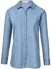 Peter Hahn - Jeans-Bluse aus 100% Baumwolle