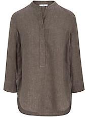 Peter Hahn - Long-Bluse mit Aufschlag am 3/4-Arm