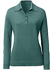 Peter Hahn - Polo-Pullover aus Seide mit Kaschmir Modell