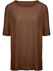 Peter Hahn - Rundhals-Pullover mit langem 1/2-Arm
