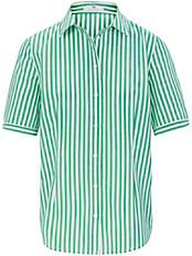 Peter Hahn - Streifen-Bluse mit 1/2-Arm aus 100% Baumwolle