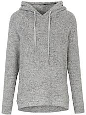 Solo per Me - Strick-Pullover im modischen Hoodie-Style
