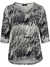 Via Appia Due - Shirt mit angesagtem Black&White print
